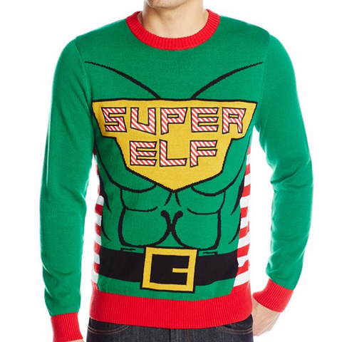 Elf Superhero UNISEX Sweater