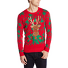 Chill 420 Rudolph Christmas Bud UNISEX Sweater