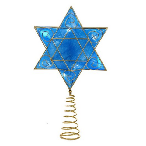Hanukkah Star of David Tree Topper