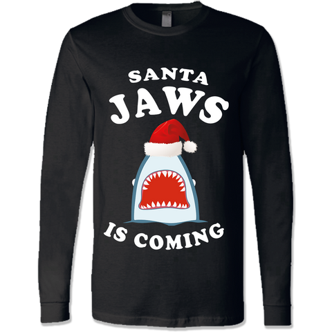 Santa Jaws Shirts & Sweatshirts