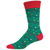 Men's Untangled Christmas Lights Socks