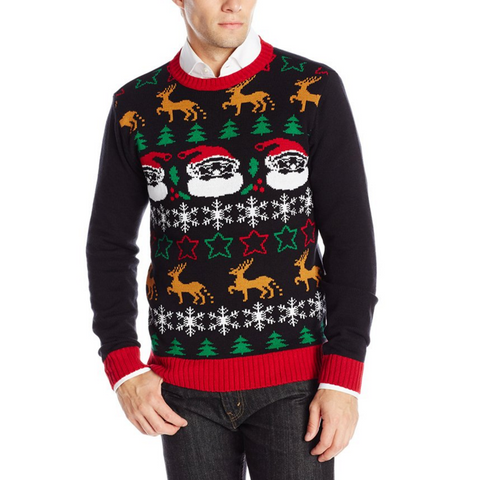 Christmas All Over UNISEX Ugly Christmas Sweater