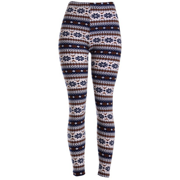 Women's Nordic Print Leggings