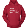 Nice? Naughty? Don't Ask.. Shirts & Sweatshirts