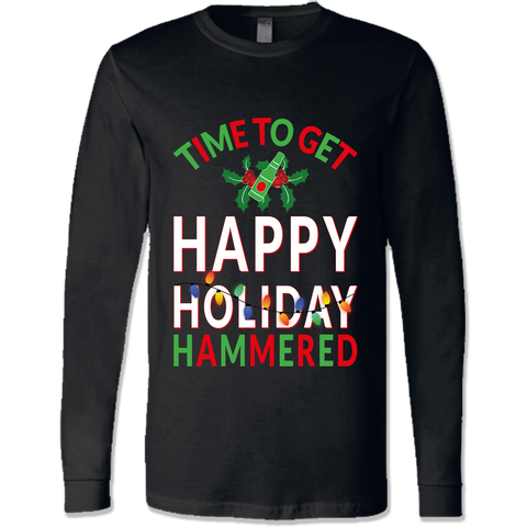 Happy Holiday Hammered Shirts & Sweatshirts