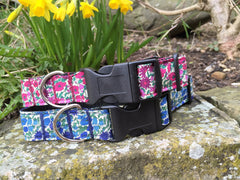 Liberty Print Dog Collars