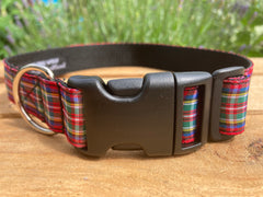 Tartan Dog Collars & Leads