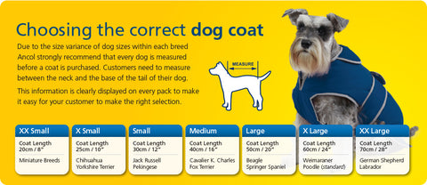Ancol size guide – all seasons pet supplies.