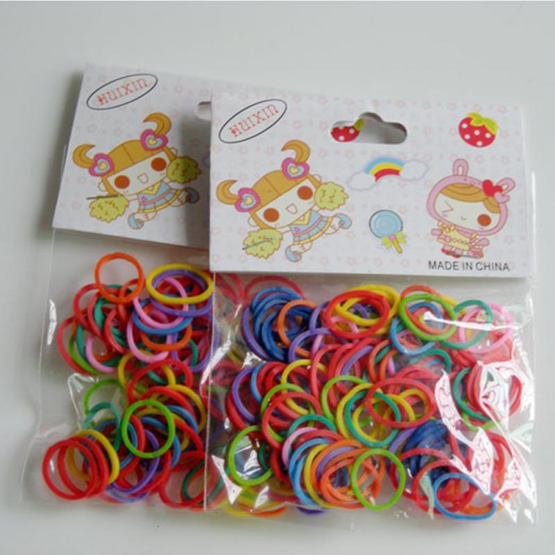 1 Bag/100pcs Colorful Pet Beauty Supplies Pet Dog Grooming Rubber Band Pet Hair Product Hair Accessories