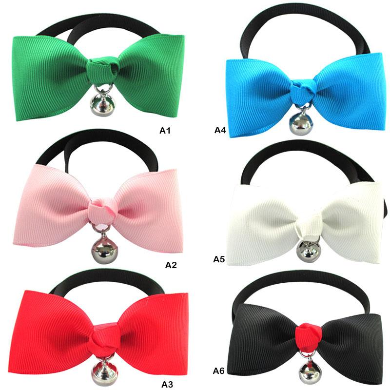 1 PC New Pet Dog Supplies Plastic Adjustable Tie Pet Dog Cat Pet Jewelry Collar Necklace Accessories
