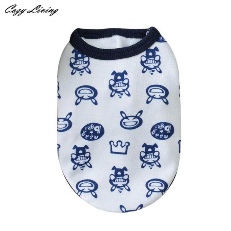 1 PC Pet Clothes For Small Dogs Cats XS Winter Cotton Dog Clothes Milk Chihuahua Small Puppy Pet Clothes Wholesale D19