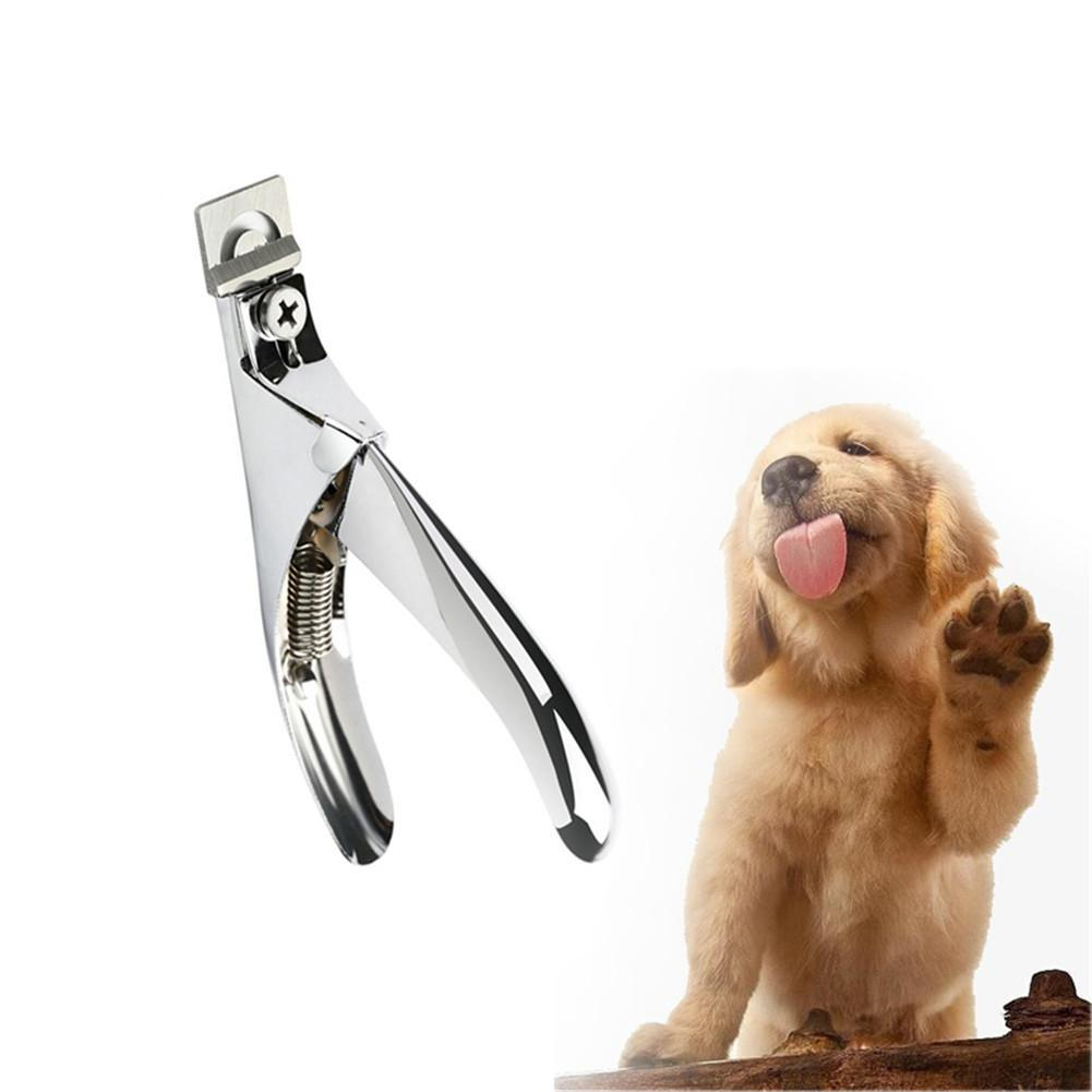 1 PC Professional Dog Nail Clippers Scissor Stainless Steel Pet Nails Trimmer Grooming Scissors Pets Nail Cutter for Dogs Cats