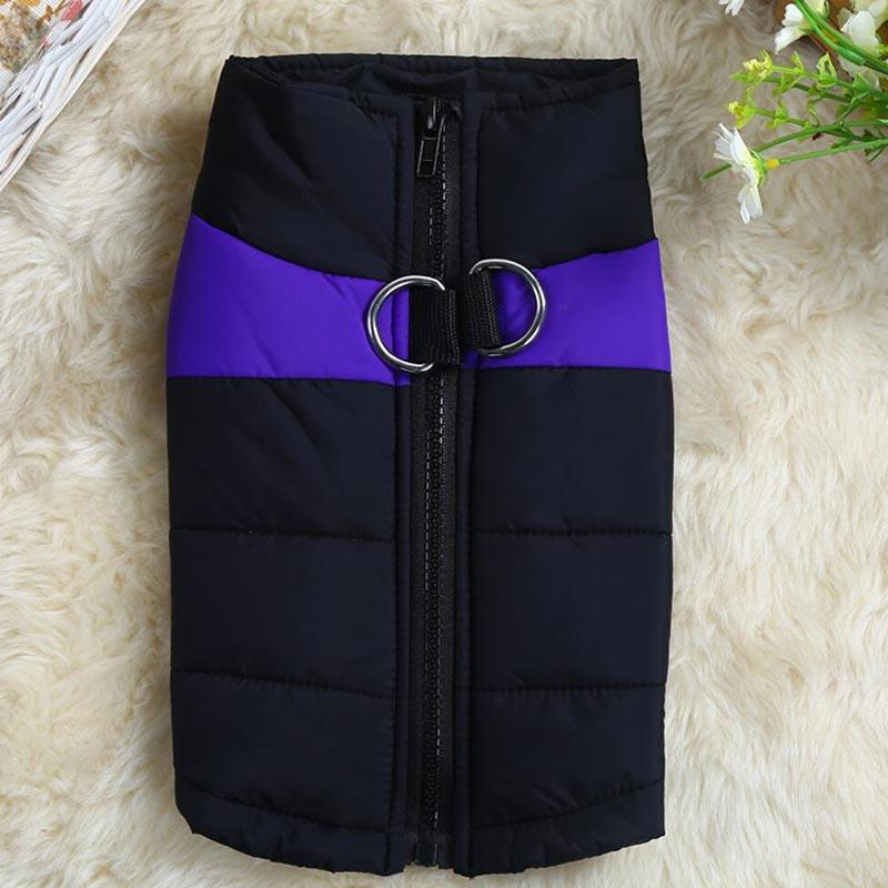 1 Pcs  Warm Winter Dog Clothes Waterproof Pet Dog Puppy Vest Jacket Coat For Small Medium Large Dogs HG99