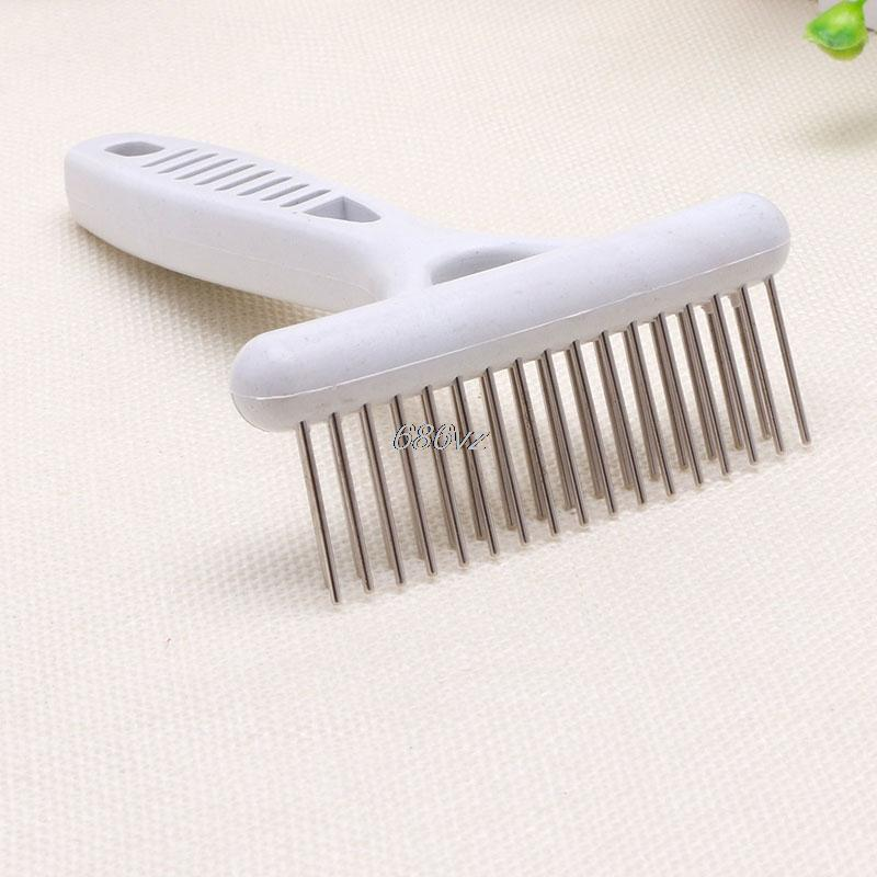 1 pc Pet Dog Hairs Comb Pet Dog Cat Grooming Combs for Pet Dog Grooming Rake Dog Brush Goods for Pets 13.5cm N28 Drop Ship
