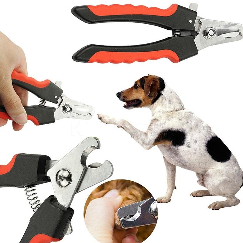 1 pcs High quality Puppy Pet  Nail Toe Clipper  Grooming Claw Cutter Trimmer Scissors cortador de unha cachorro