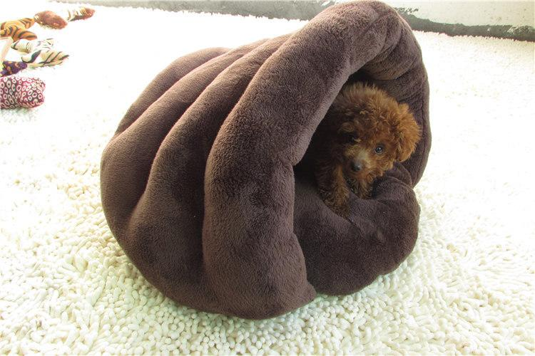 1 piece Cute Cat Sleeping Bag Warm Dog Cat Bed Pet Dog House Lovely Soft Pet Cat Mat Cushion High Quality Products Lovely Nest 2