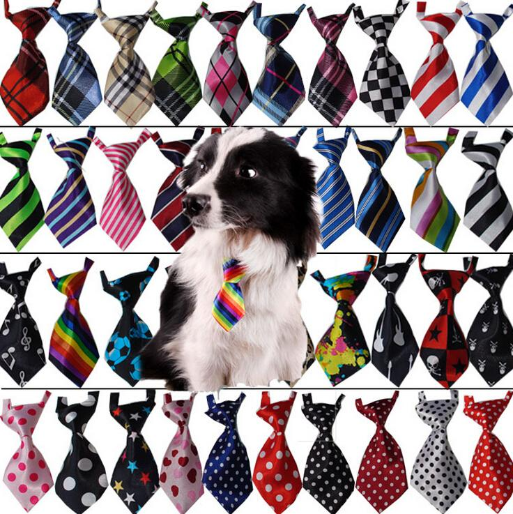 1 piece Lovely Printed puppy tie dog neck tie pet cat small tie dog clothes tie pet accessories  decorations