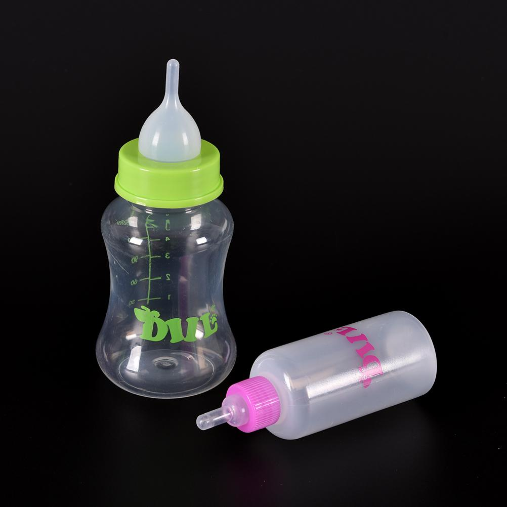 1 set Pet Feeding Bottle Feeding Nursing Bottle Nipple Brush Kit For Dog Puppy Cat Kitten Pet 60ml/150ml