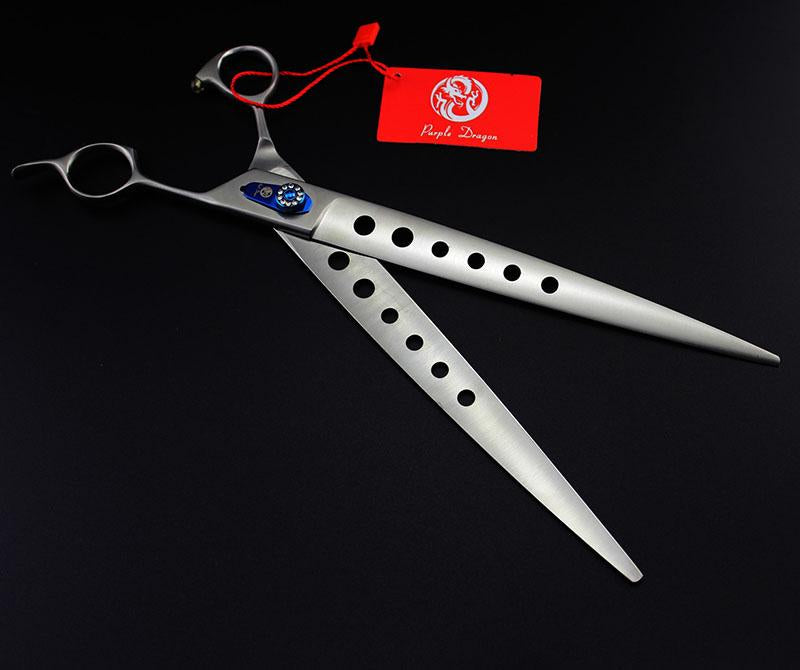 10 In  Hole Blade  Pet Cutting Scissors Dog Scissors Grooming Shears