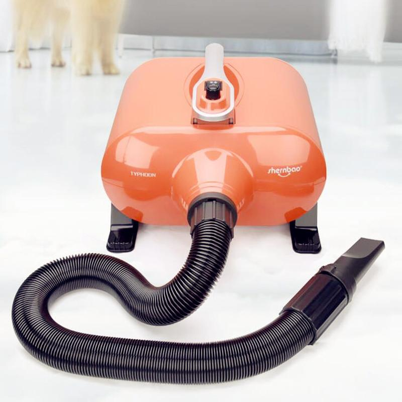 10 Minutes Quick Dry  Low Noise Pet Dog Blow Dryer  220v Blowing Machine For Pets Dogs Cats 2800w Double Motor  Dog Dryer