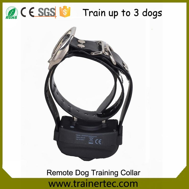100% Waterproof and Rechargeable Dog Shock Collar 400m Remote Dog Training Collar with Shock Electric E-collar