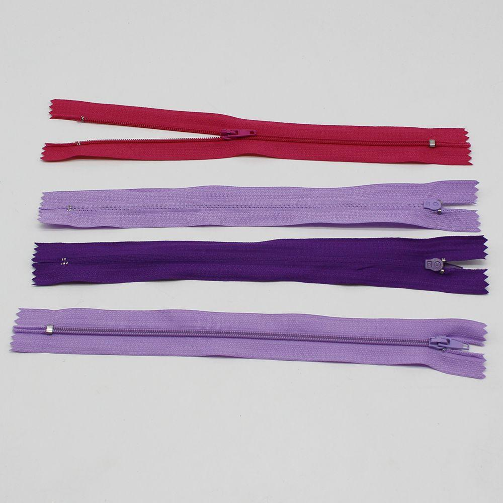100/ lot 23CM Length nylon zipper Invisible zipper bobbin DOG CLOTHING clothing tailor pillow cushion accessories for tool