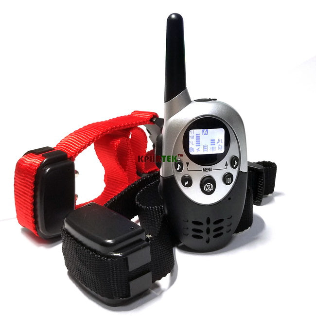 1000M Rechargeable And Waterproof Shock Vibra Remote Control LCD Electric Pet Dog Training Collar For 1 Dog 2 Dogs E613 M613