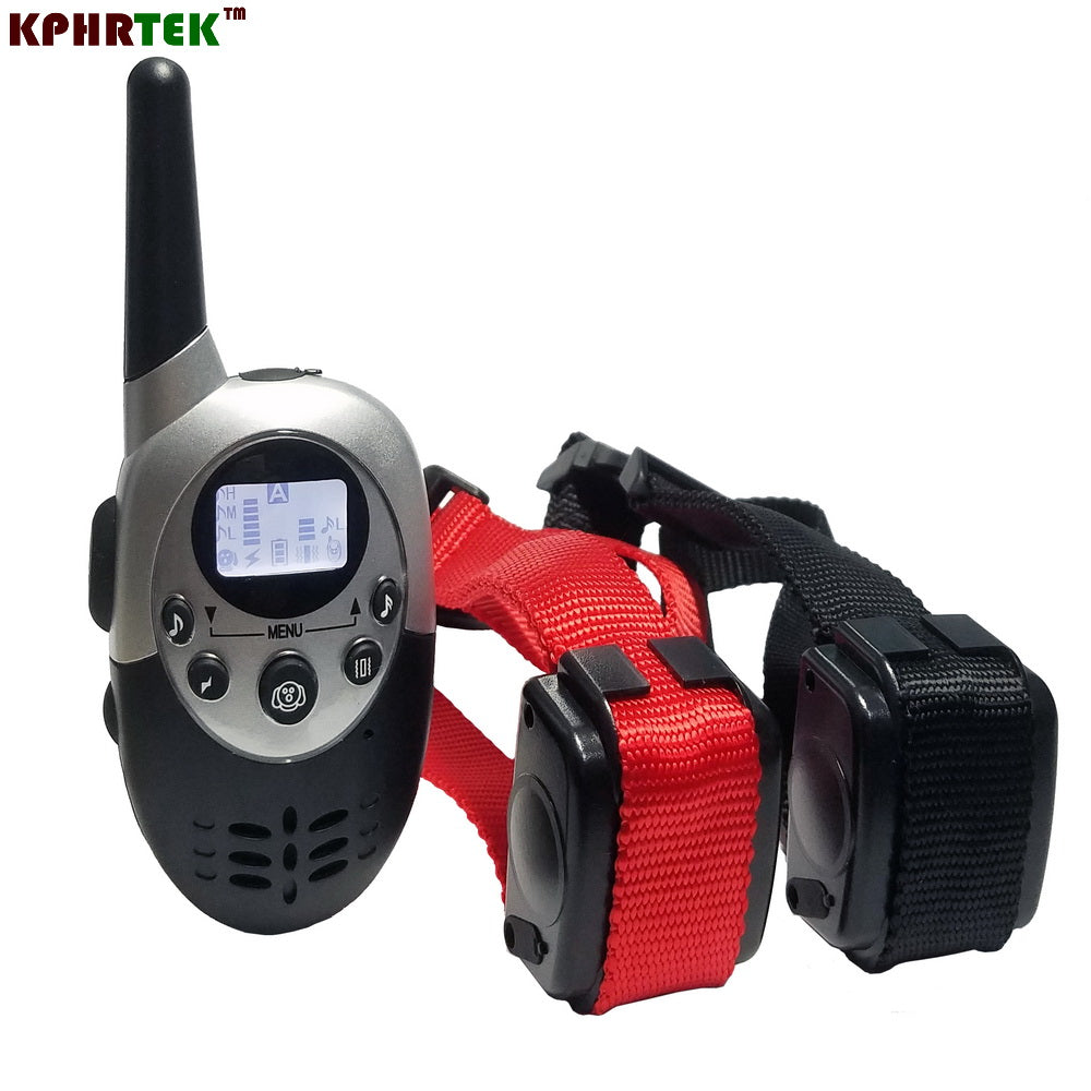 1000M Waterproof Rechargeable Remote Control Electronic Electric Vibration Shock Beeper Pet Dog Training Collar M613 M623