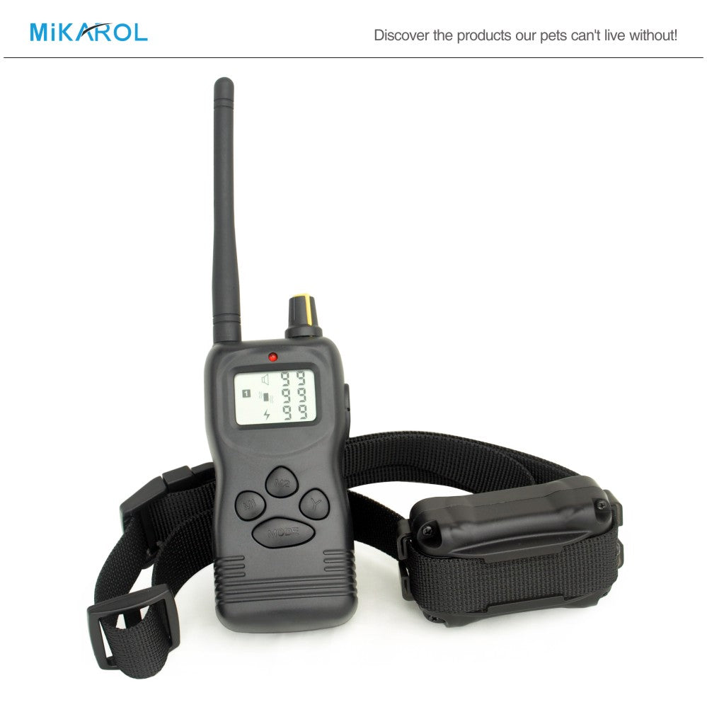 1000M remote anti bark dog collar remote control pet training collar electric dog trainer bark stop termintor device