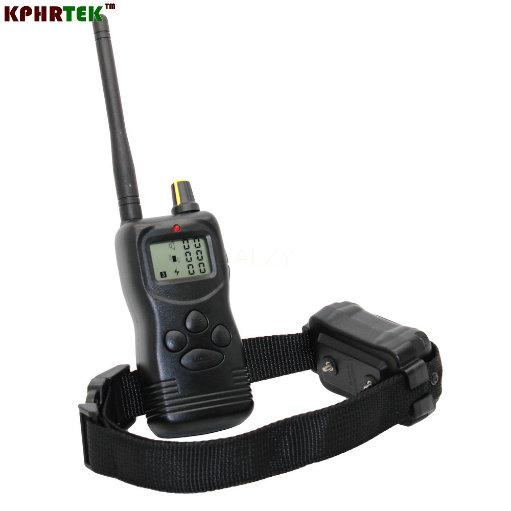 1000m Remote dog Training Collar with LCD Display 10pcs/lot PET 900