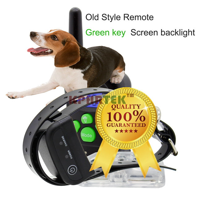 100LV Level 300 meter Electronic Shock Vibra LCD Display Remote Control Pet Dog Training Collar 998D For 1 Dog
