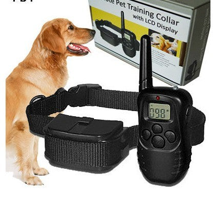 100LV Shock + Vibra remote control Electric Dog Training Collar 998d for1 dog 10pcs/lot