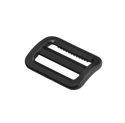 "100pcs 1""(25mm) Plastic Black Slider Tri Glide Adjust Buckles Wider Style For Dog Collar Harness Backpack Straps"
