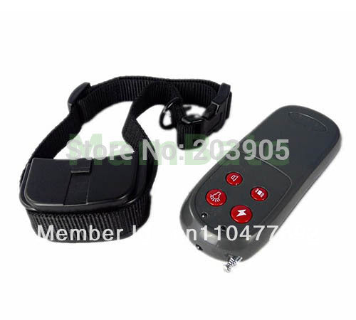 100pcs/lot *250M 250meter 4 in 1 Vibration and Static Impulse ELECTRONIC dog pet control REMOTE DOG TRAINING COLLAR