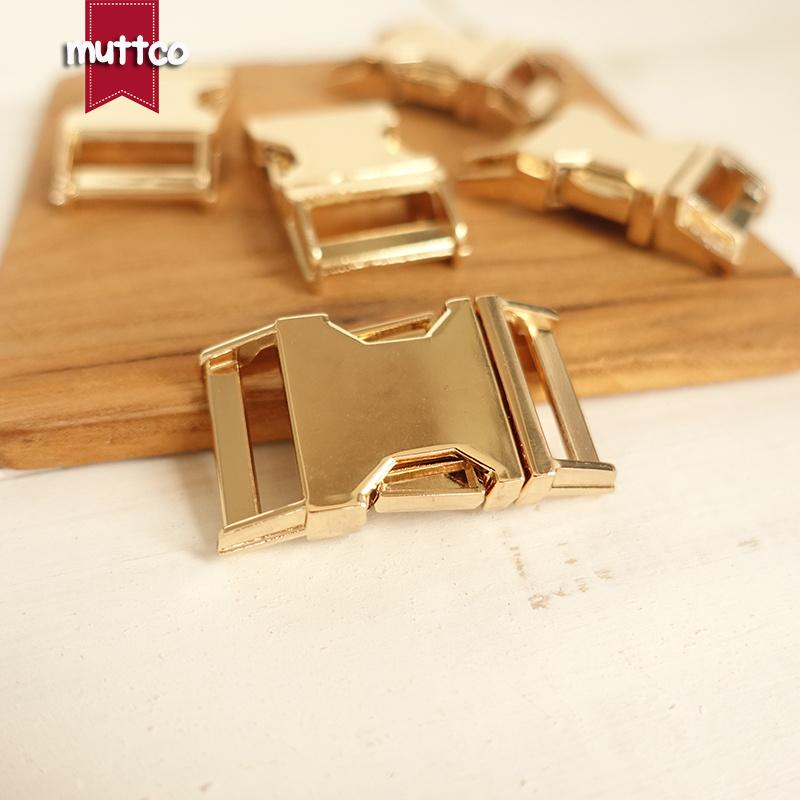 100pcs/lot DIY for Dog Collar Golden 2.0cm diy backpack zinc alloy buckle zinc alloy pet metal buckle DK-028