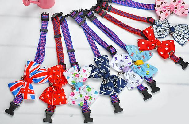 100pcs/lot Dog Cat bow dog bow tie pet bows pet dog necktie dog and cat necktie Assorted colors supply