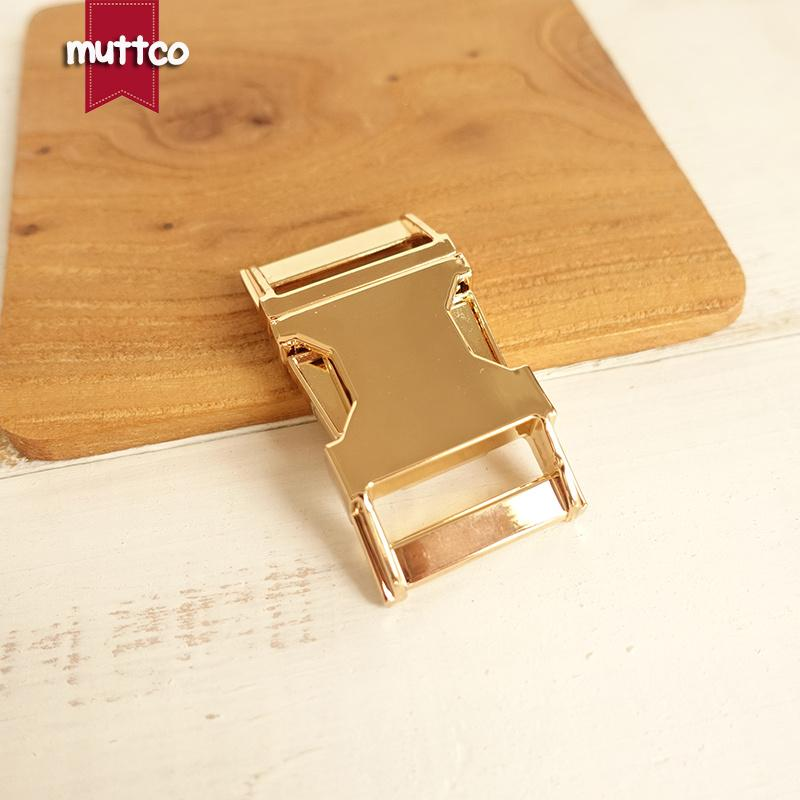 10pcs/lot DIY for Dog Collar Golden 2.5cm diy backpack zinc alloy buckle zinc alloy pet metal buckle DK-029
