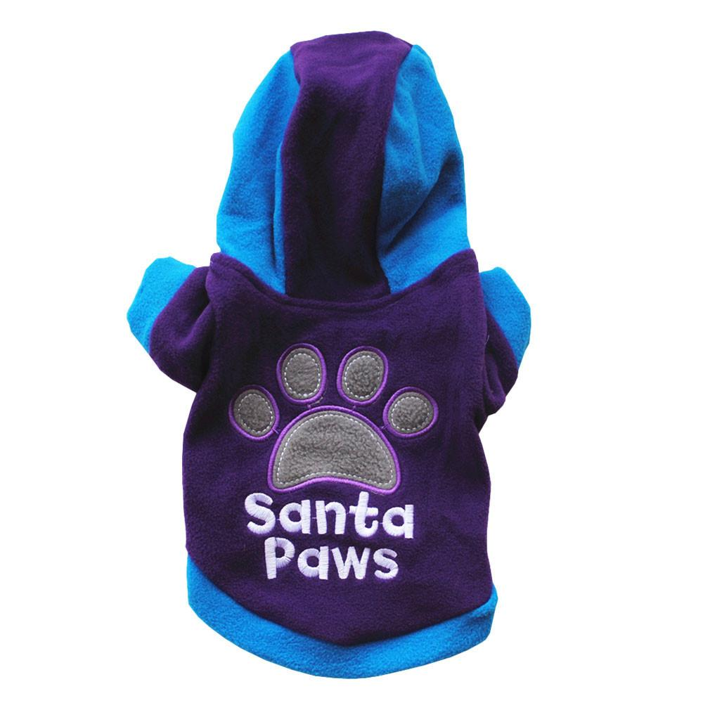 11.11 2017 XS/S/M/L/XL Winter Casual Pets Dog Clothes Warm Coat Jacket Clothing For Dogs Cotton Blended 30%