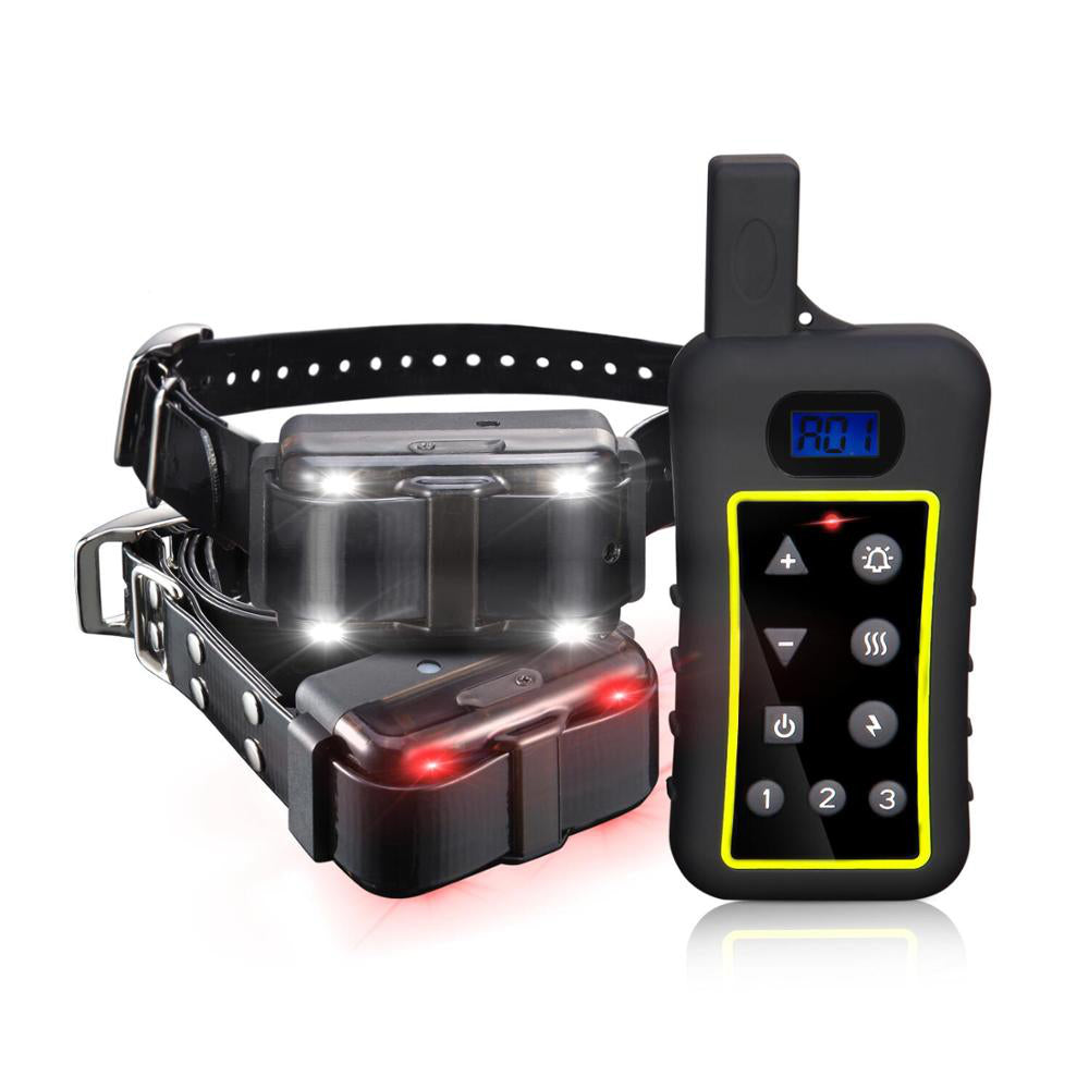 1200m Remote Range Pet Dog Electric Shock Trainer Control 3 Dog Training Anti Bark Shock Collar for medium large dog