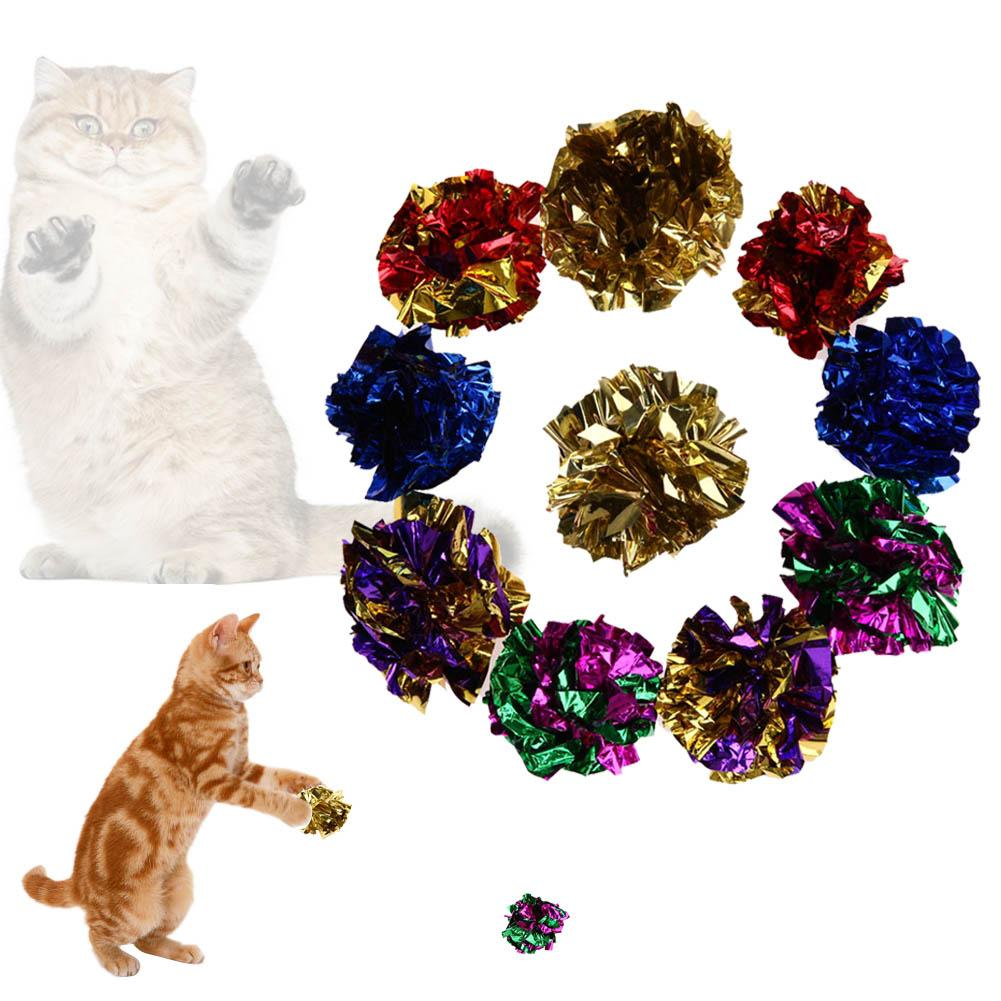 Cat Toy Large Crinkle Balls