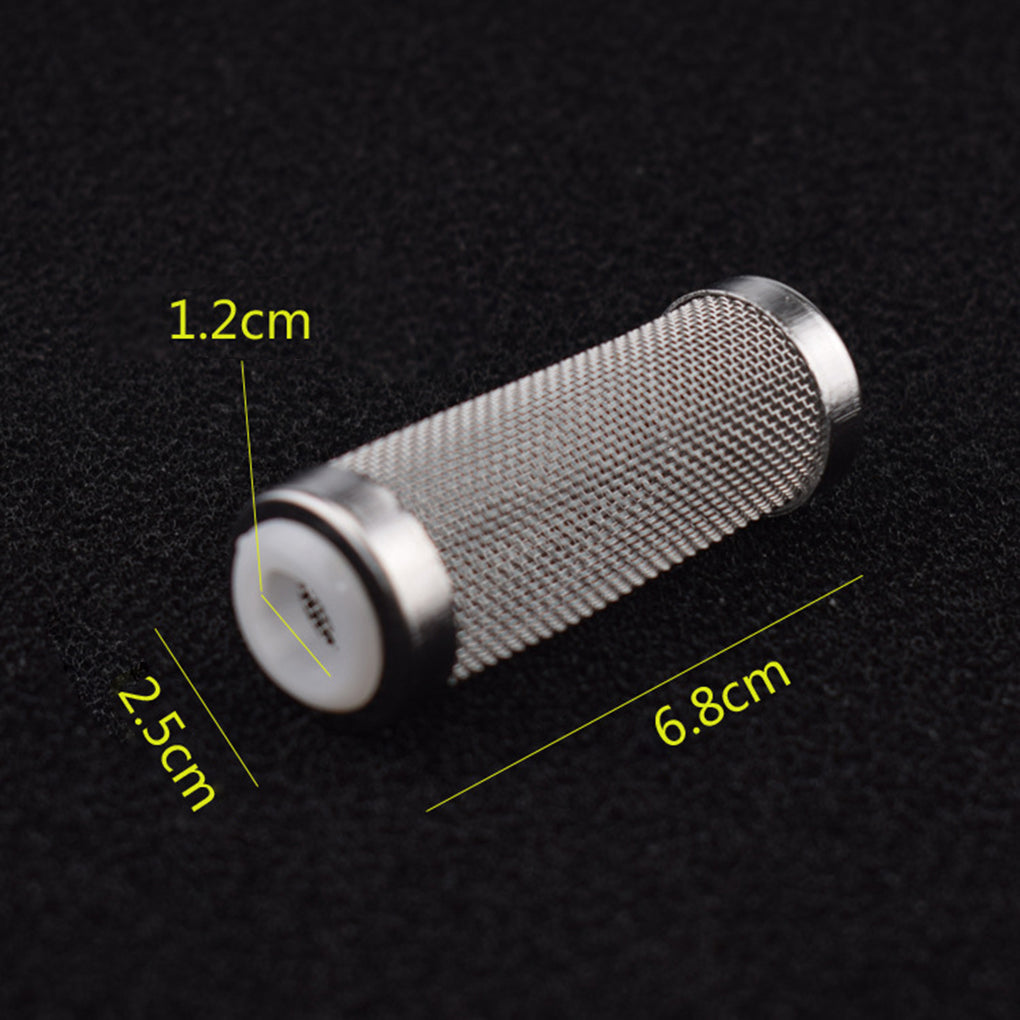 12mm 16mm Stainless Steel Filter Mesh Shrimp Nets Aquarium Shrimp Guard for Fish Tank Cleaning Net
