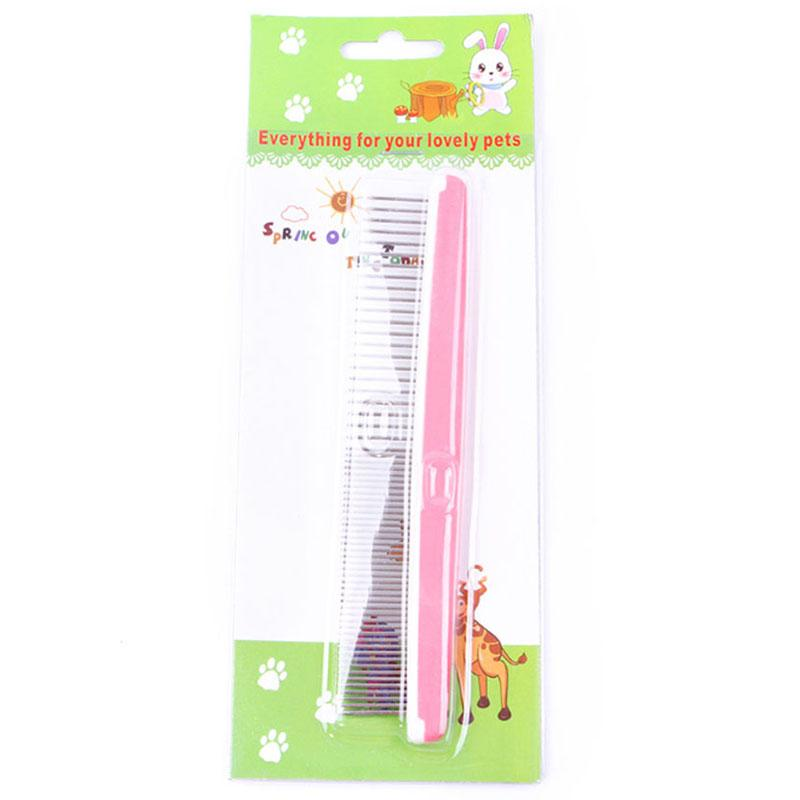17.5 x 3.5 cm Dog Comb Pet Grooming Tool Remove Tangles, Knots, Loose Fur and Dirt for Everyday Use for Dogs and Cats Spot Stock