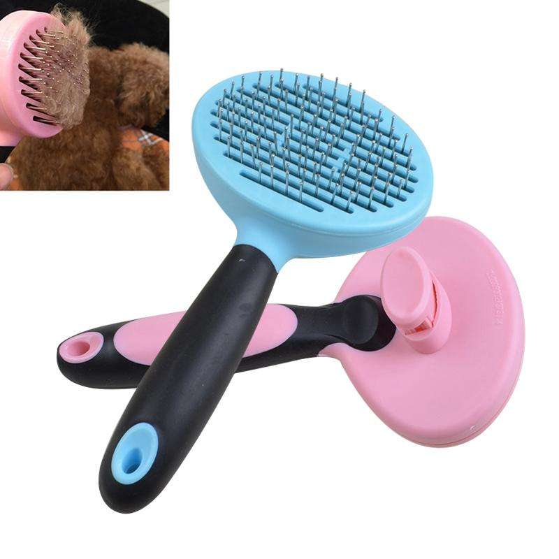 18cm Dog Cat Comb Prevent Static Electricity Dog Grooming Brush Massage Round Head Multi-purpose Dog Comb Pet Supplies