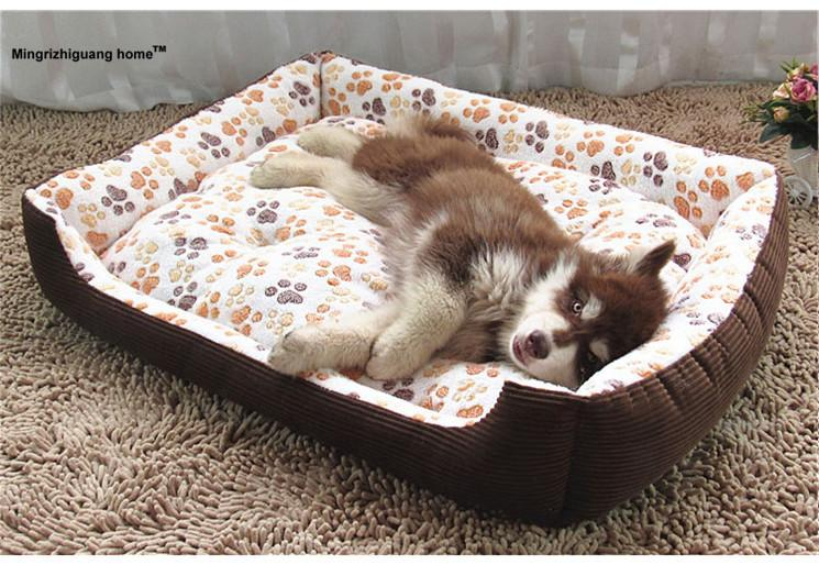 1PC Breed Dog Bed Sofa Mat House 6 Size Cat Pet Bed House for large dogs Big Blanket Cushion Basket Supplies  OZ 004