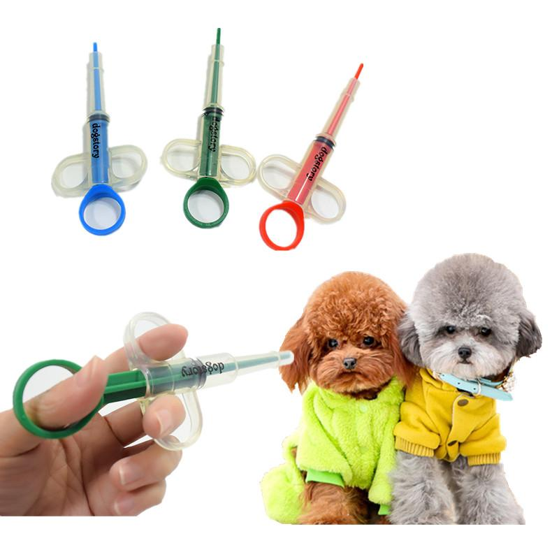 1PC Pet Puppy Needle Feed Applicator Dog Given Medicines Injector Syringe Baby Cat Dogs Water Milk Feeder