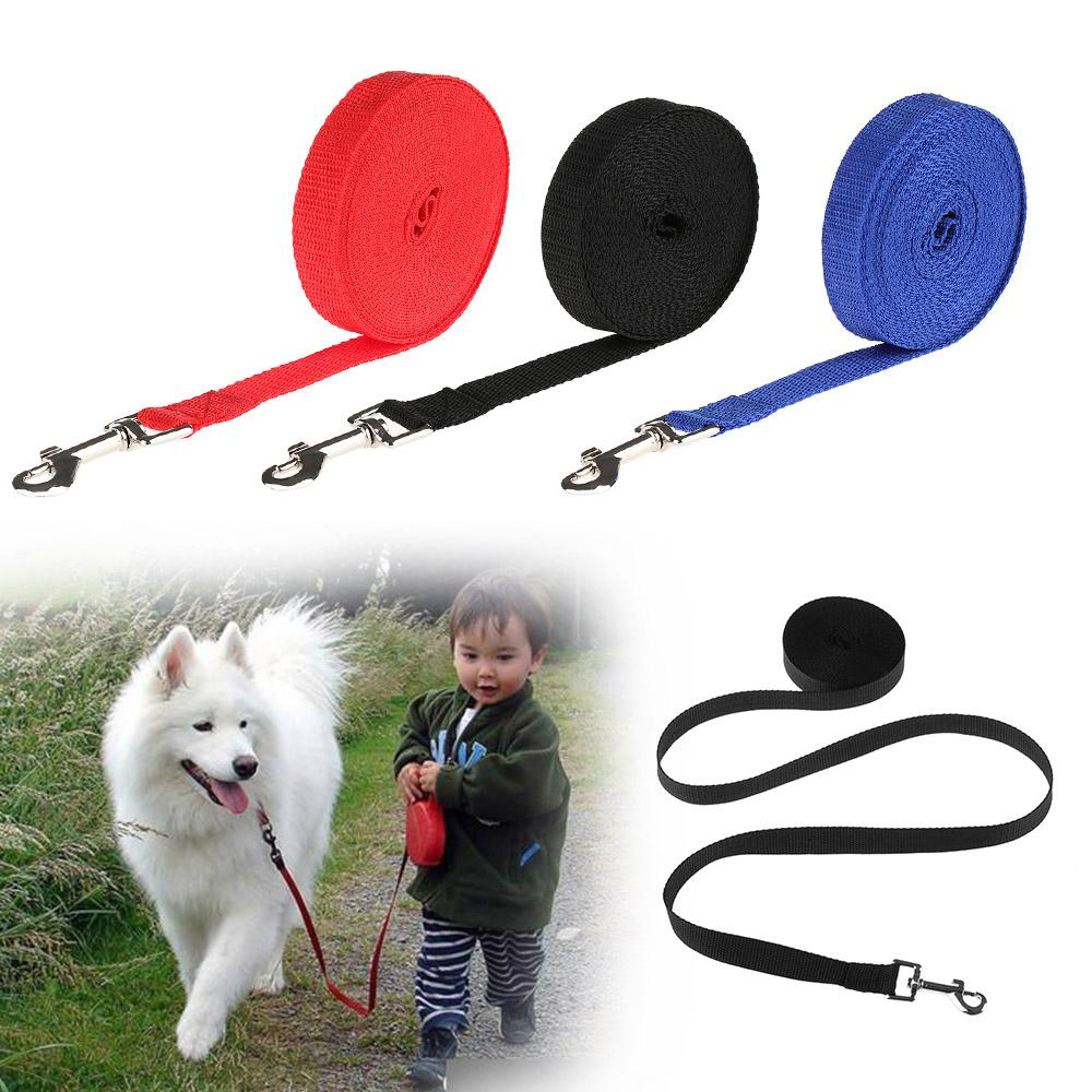 1PCS 1.8m 4.5m 6m 10m Flexible Animal Supplies Puppy Kitten Nylon Rope Walking Harness Dog Cat Lead Wire Pet Leash