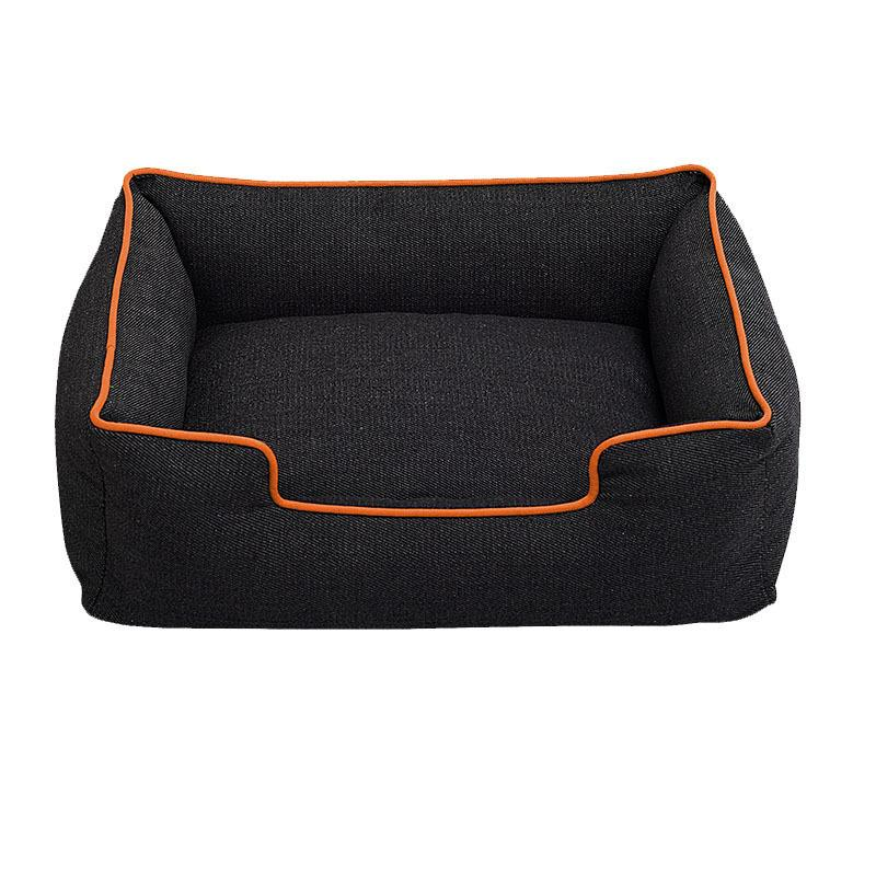 1PCS Comfortable And Soft Cat Bed Dark Denim Pet Nest  S/M/L Cat Pet Dog Sofa Bed Good Products For Puppy Cat Pet Dog Supplies