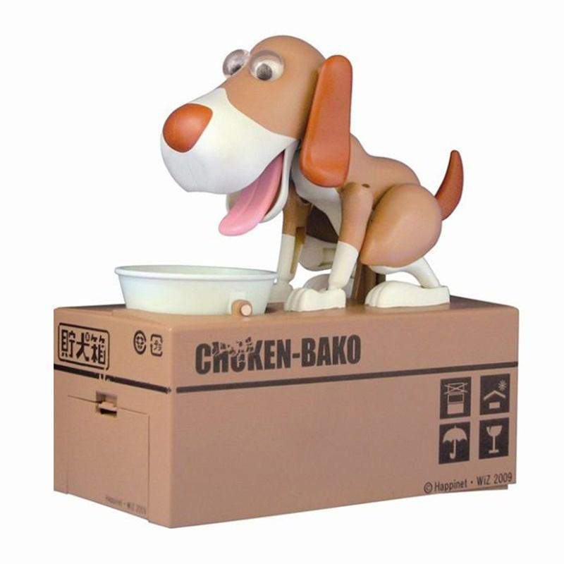 1PCS Cute Cartoon Money-boxes Dog Model Coin Bank Gift Supply Dog Piggy Bank Children's Day Money Box Money Saving Banks