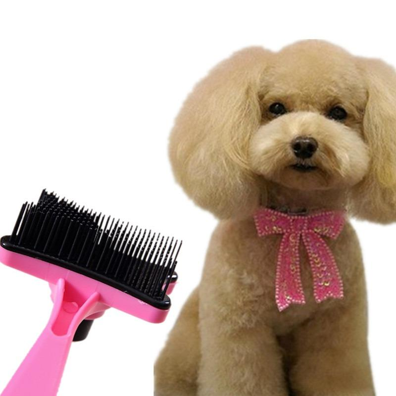 1PCS High Quality Pet Dog Cat Hair Fur Shedding Trimmer Grooming Rake Professional Comb Brush Tool LM76