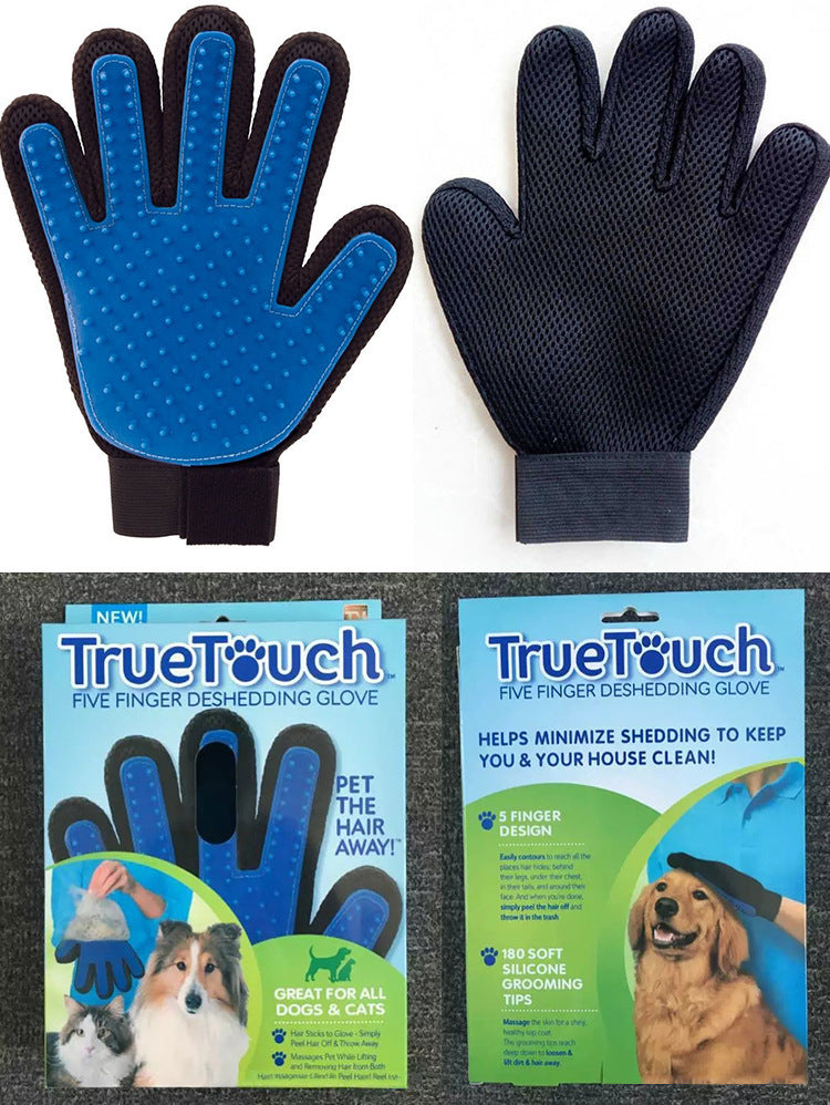1Pc Right Hand Glove Cleaning Brush Magic Glove Gentle Efficient Pet Massage Grooming Groomer High quality Pet gloves